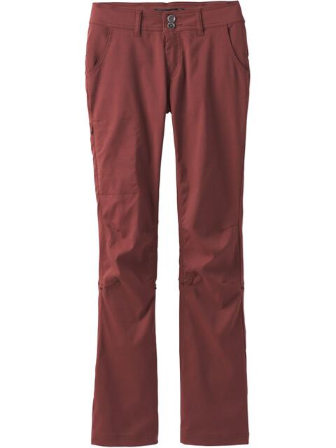 Prana Halle lange broek Dames regular rood